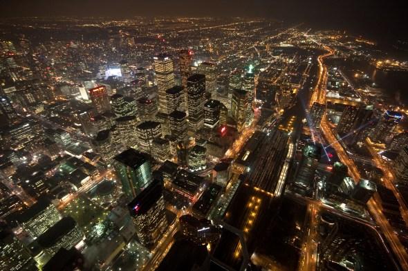 科技时代_组图:2009加拿大多伦多熄灯一小时