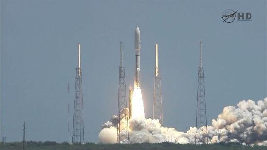 美国发射朱诺号木星探测器