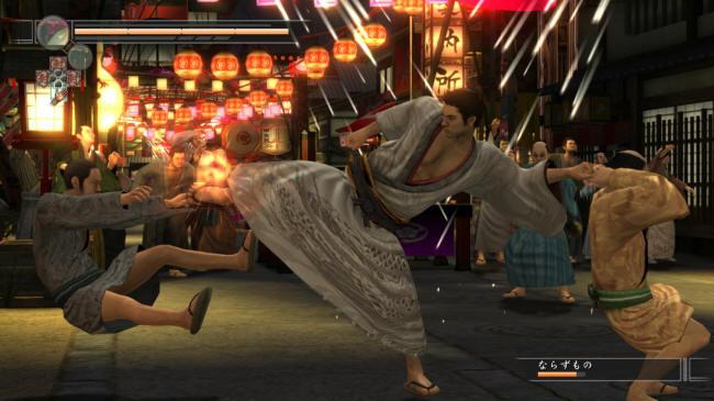 PS3独占《龙如见参》公布游戏新画面