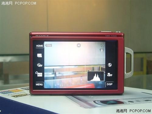 笑脸快门超大屏索尼T200带1G卡仅2400