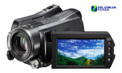 硬盘高清DV索尼三款数码摄像机新品上市
