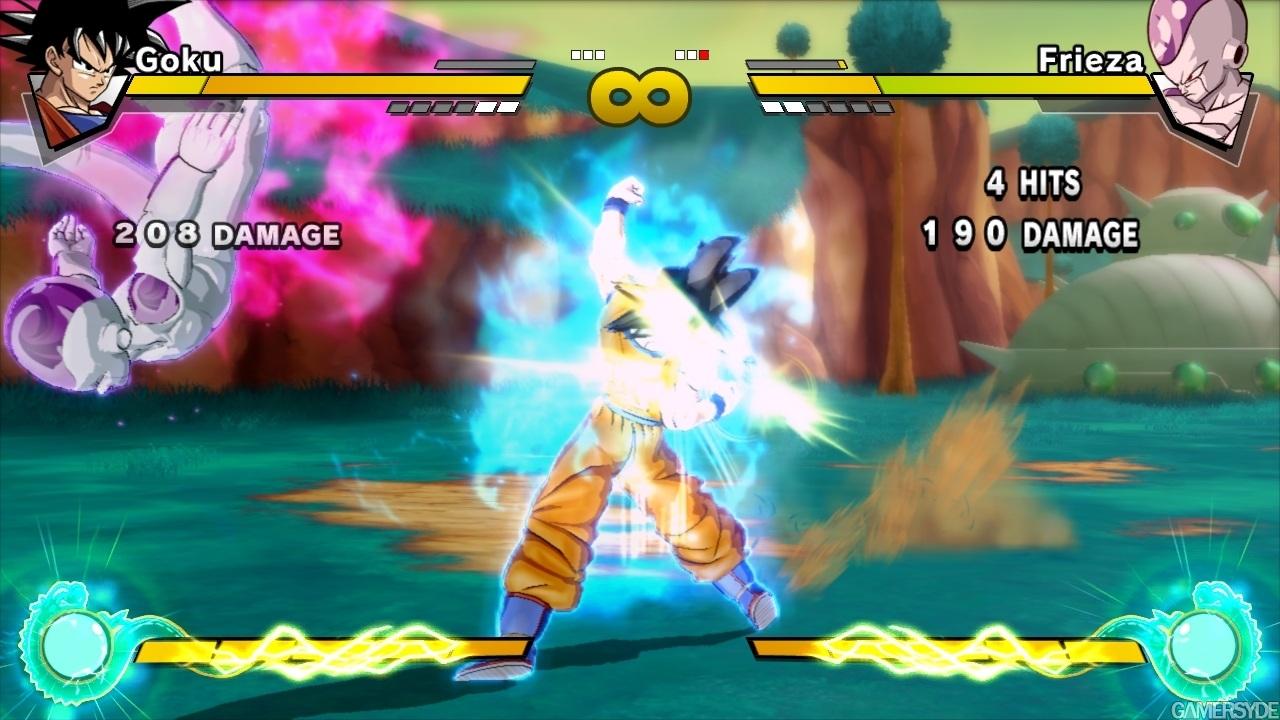 PS3《七龙珠Z 突破极限》新游戏画面_数码