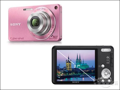 超薄时尚家用卡片相机索尼W350仅售1680元