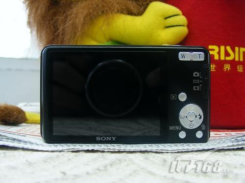 家用时尚卡片相机索尼W350最新价1580元