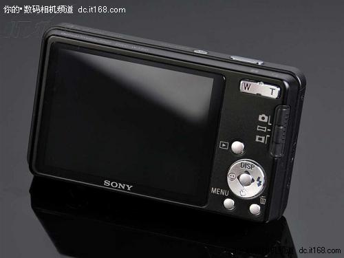 具备1410万有效像素索尼W350降至1620元