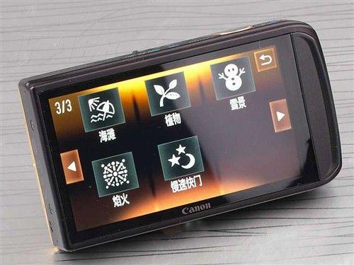 超大触摸屏佳能IXUS210现售价1890元