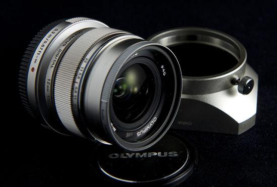 奥林巴斯目前焦距最短的自动定焦镜头M.ZD 12mm f/2.0