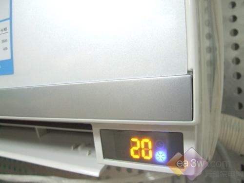 外观设计清新奥克斯直流变频空调首测