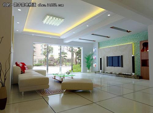 42款电视背景墙设计图欣赏