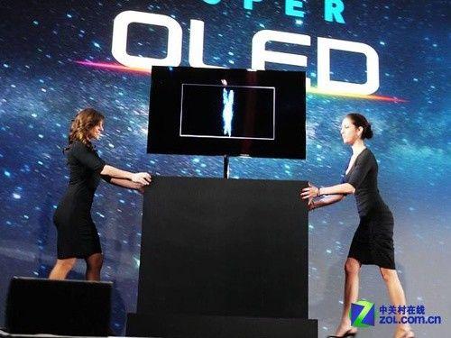 更超薄更节能三星OLED电视惊艳全场