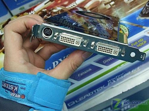 核心达720MHz丽台超频版96GT显卡1680