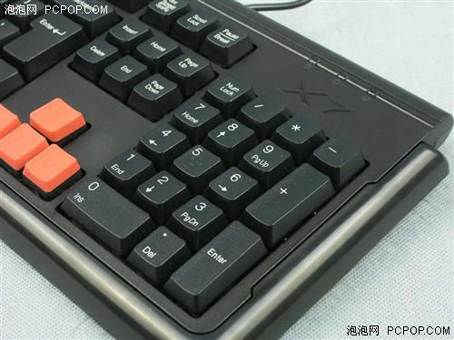 半滴水都不漏双飞燕X7G300键盘评测