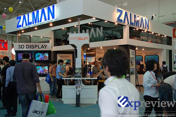 Computex2008:Zalman展台新品一览