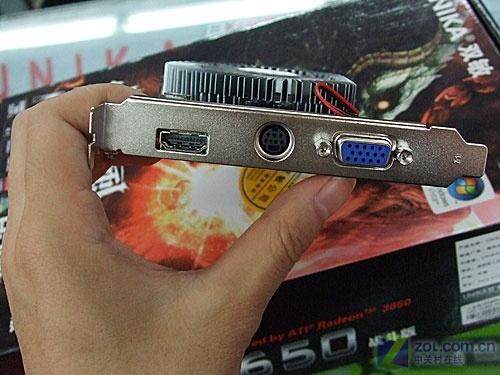 高清游戏一网打尽HDMI版3650显卡399元