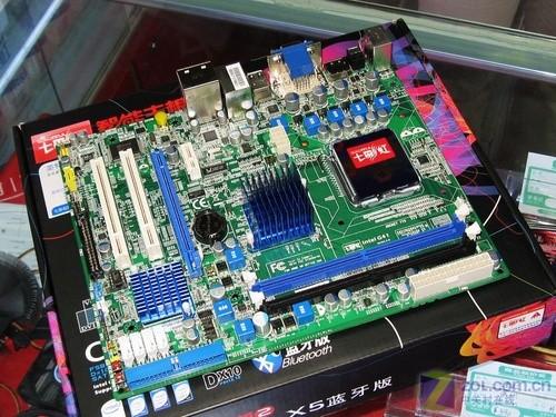 唯一蓝色电感 七彩虹全固态G41主板499元图片