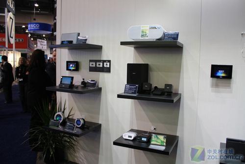 CES2010:独家图片直击索尼音响展台!_硬件设计户外家具图片