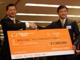 阿里巴巴捐赠香港公益金