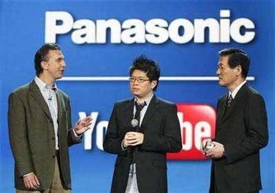 科技时代_松下将与谷歌联合开发互联网电视(图)