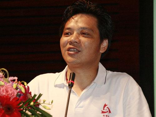 周勇:图文:中国网博会秘书长张新亮_张新亮_图