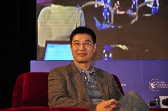 为3亿移动互联网民服务论坛 手机大头董事长兼CEO王秦岱发言