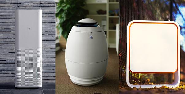小米、小蛋、豹米智能空气净化机