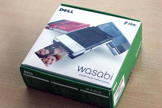 戴尔无墨水便携打印机WasabiPZ310首评