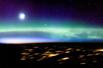 太空拍摄壮丽极光