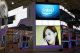Intel展台