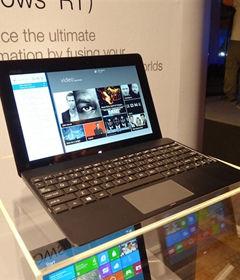 华硕发布首个Windows RT平板