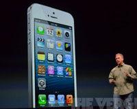 iPhone 5有黑色和白色两个版本