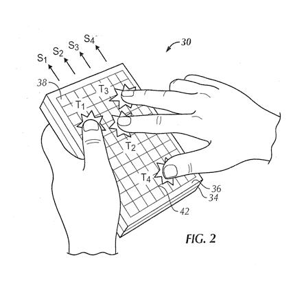 苹果平板电脑可能带有动态触控键盘(图)