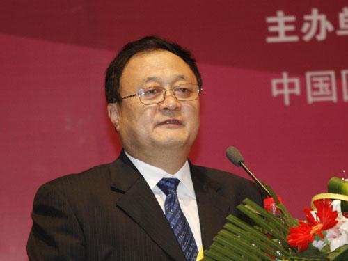 大连市外经贸局副局长高福军致辞