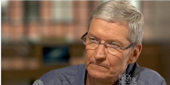 苹果CEO库克接受NBC专访