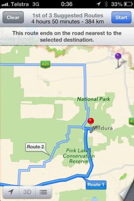 多名驾车旅行者在使用iPhone导航时被困在了毒蛇出没的沙漠地区。