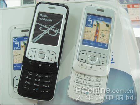 GPS导航诺基亚S60滑盖6110N售价3099