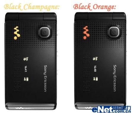 惊喜不断索尼爱立信W380i再推黑橙色