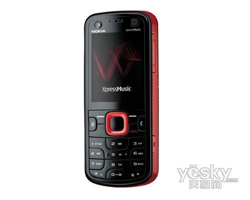 诺基亚5320XM新机发布 3G网络动感音乐!_手
