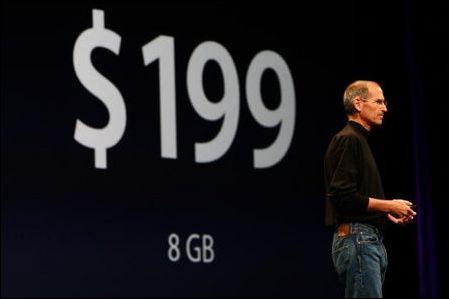 惊喜价格3G版iPhone支持GPS与中文输入