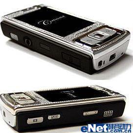 科技时尚融合诺基亚全能N95镶钻版登场