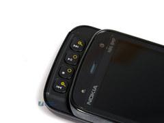 双向滑盖影帝黑色诺基亚N86仅2490元