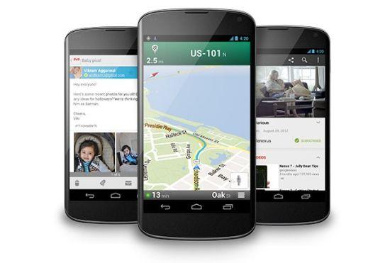 LG Nexus 4官方效果图