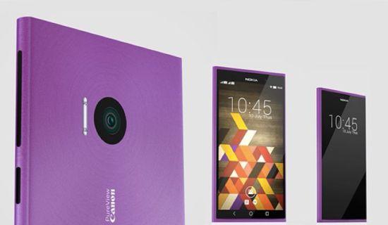 [概念机]设计师眼中的Lumia X Android L+佳能镜头 蓝点网 http://www.landiannews.com