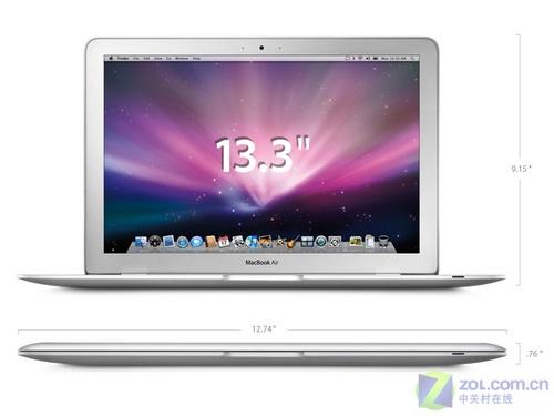 苹果公布MacBookAir新本号称全球最薄