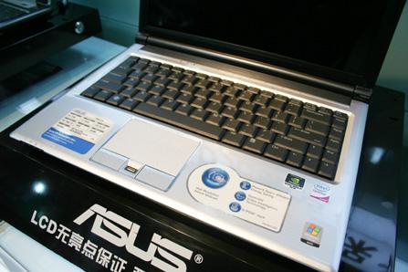 内存硬盘双升8600GT华硕F8Sv爆7800