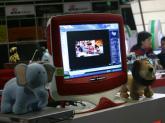 易趣展台前的PC