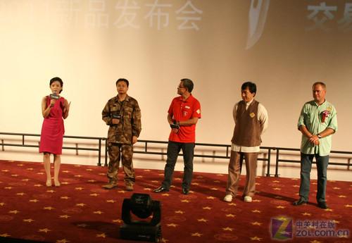成龙现场助阵卡巴斯基安全部队2011发布