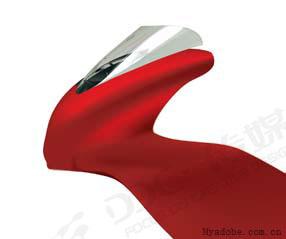 用Illustrator绘制红色炫动摩托车