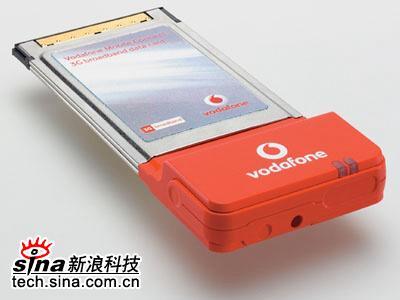 科技时代_沃达丰推出超3G数据卡上网速率1.4Mbps