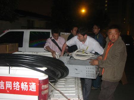 科技时代_图文:华为员工挑灯夜战