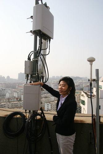 爱立信高级客户方案经理李江黎介绍共站升级方案